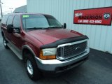 2001 Toreador Red Metallic Ford Excursion Limited 4x4 #87457840