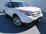 2014 White Platinum Ford Explorer XLT 4WD #87457640