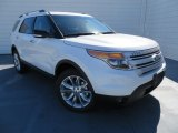 2014 White Platinum Ford Explorer XLT 4WD #87457639