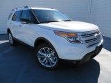 2014 White Platinum Ford Explorer XLT 4WD #87457639