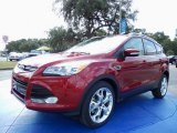 2014 Ruby Red Ford Escape Titanium 2.0L EcoBoost #87457559