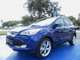 2014 Deep Impact Blue Ford Escape Titanium 2.0L EcoBoost #87457558