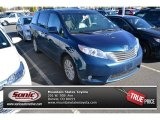 2012 South Pacific Pearl Toyota Sienna XLE AWD #87457353