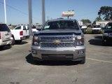 2014 Silver Ice Metallic Chevrolet Silverado 1500 LT Crew Cab #87457802