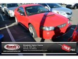 2002 Torch Red Ford Mustang GT Coupe #87457343