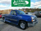 2003 Arrival Blue Metallic Chevrolet Silverado 1500 LS Regular Cab 4x4 #87457795