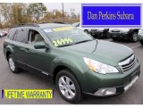 2012 Cypress Green Pearl Subaru Outback 2.5i Limited #87457333