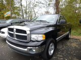2003 Black Dodge Ram 1500 SLT Quad Cab 4x4 #87457597