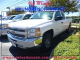 2013 Summit White Chevrolet Silverado 1500 LT Extended Cab #87493769