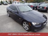 2007 Monaco Blue Metallic BMW 3 Series 335i Coupe #87493881