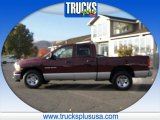 2003 Dark Garnet Red Pearl Dodge Ram 1500 SLT Quad Cab #87493988