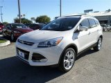 2014 White Platinum Ford Escape Titanium 2.0L EcoBoost #87493743