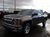 2014 Brownstone Metallic Chevrolet Silverado 1500 LT Double Cab 4x4 #87493872