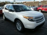 2014 White Platinum Ford Explorer XLT #87493811