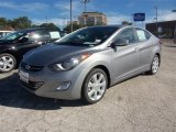 2013 Titanium Gray Metallic Hyundai Elantra Limited #87493726