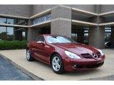 2007 Mercedes-Benz SLK Storm Red Metallic