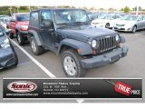 2010 Dark Charcoal Pearl Jeep Wrangler Sport 4x4 #87493639