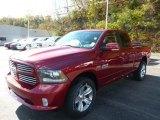 2014 Deep Cherry Red Crystal Pearl Ram 1500 Sport Quad Cab 4x4 #87493904
