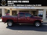 2003 Dark Garnet Red Pearl Dodge Ram 1500 SLT Quad Cab 4x4 #87518085