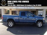2006 Atlantic Blue Pearl Dodge Ram 1500 SLT Quad Cab 4x4 #87518084