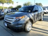 2014 Sterling Gray Ford Explorer XLT #87518073