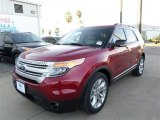 2014 Ruby Red Ford Explorer XLT #87518072