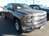 2014 Brownstone Metallic Chevrolet Silverado 1500 LT Double Cab 4x4 #87523873