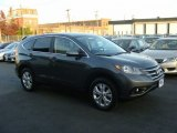 2012 Polished Metal Metallic Honda CR-V EX 4WD #87524119