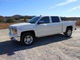 2014 White Diamond Tricoat Chevrolet Silverado 1500 LTZ Crew Cab 4x4 #87523950