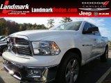 2011 Bright White Dodge Ram 1500 Big Horn Crew Cab #87523679