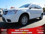 2014 White Dodge Journey SXT #87523673