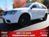 2014 White Dodge Journey SXT #87523671