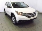 2014 White Diamond Pearl Honda CR-V LX AWD #87523514