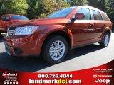 2014 Copper Pearl Dodge Journey SXT #87523665