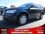 2014 Fathom Blue Pearl Dodge Journey Amercian Value Package #87523664