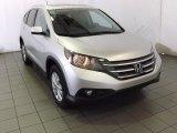 2014 Alabaster Silver Metallic Honda CR-V EX-L #87523510