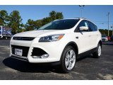 2014 Oxford White Ford Escape Titanium 2.0L EcoBoost #87523916