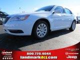 2014 Bright White Chrysler 200 LX Sedan #87523653