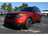 2014 Ruby Red Ford Explorer Sport 4WD #87523915