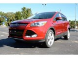 2014 Ruby Red Ford Escape Titanium 2.0L EcoBoost #87523914