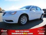 2014 Bright White Chrysler 200 Touring Sedan #87523649