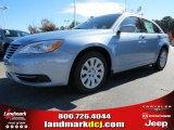 2014 Crystal Blue Pearl Chrysler 200 LX Sedan #87523648
