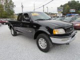 Black Ford F150 in 1997