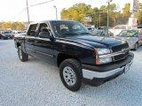 2005 Dark Blue Metallic Chevrolet Silverado 1500 LS Crew Cab 4x4 #87524053