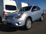 2013 Frosted Steel Nissan Rogue SV AWD #87523982
