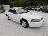 2002 Oxford White Ford Mustang V6 Convertible #87524045