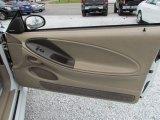 2002 Ford Mustang V6 Convertible Door Panel