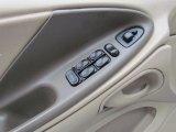 2002 Ford Mustang V6 Convertible Controls