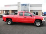 2012 Victory Red Chevrolet Silverado 1500 LS Extended Cab 4x4 #87569304