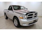 2012 Bright Silver Metallic Dodge Ram 1500 Express Regular Cab 4x4 #87569198